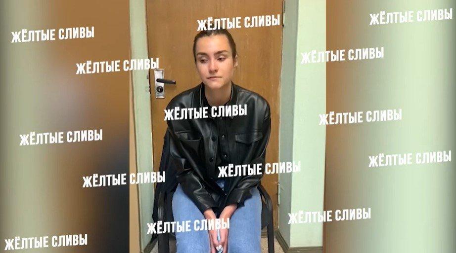 Появилось видео с арестованной в Беларуси подругой Протасевича