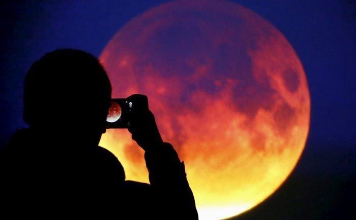 26 мая белорусы увидят 3 явления: суперлуние, полнолуние и багряное лунное затмение