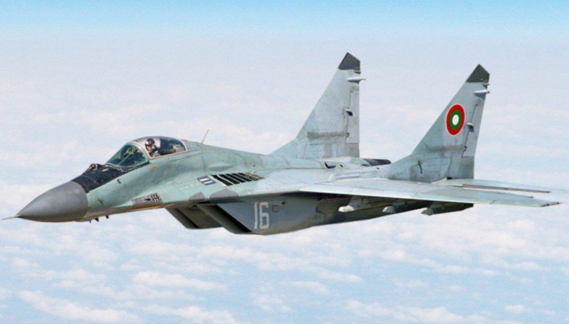 В Болгарии потерпел крушение боевой истребитель МиГ-29