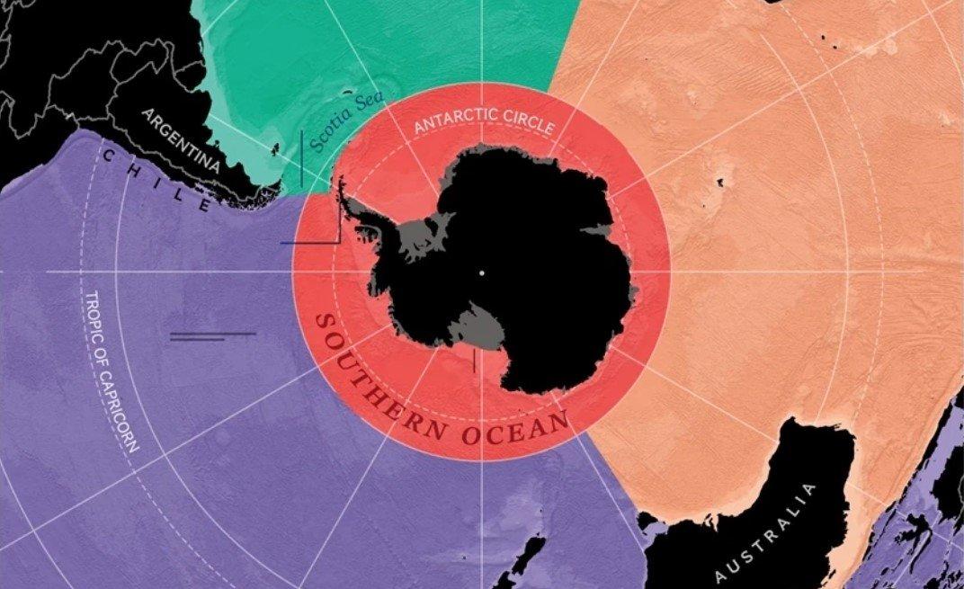 Американское географическое общество обнаружило на Земле пятый океан
