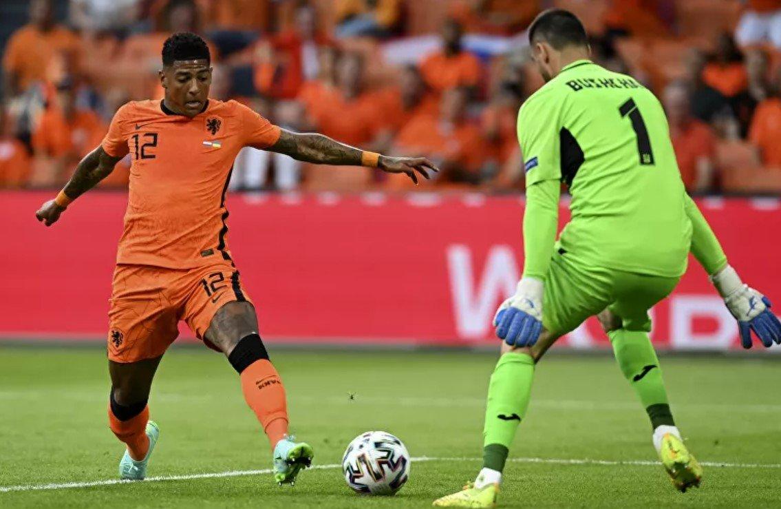 Сборная Нидерландов обыграла команду Украины в матче ЕВРО-2020