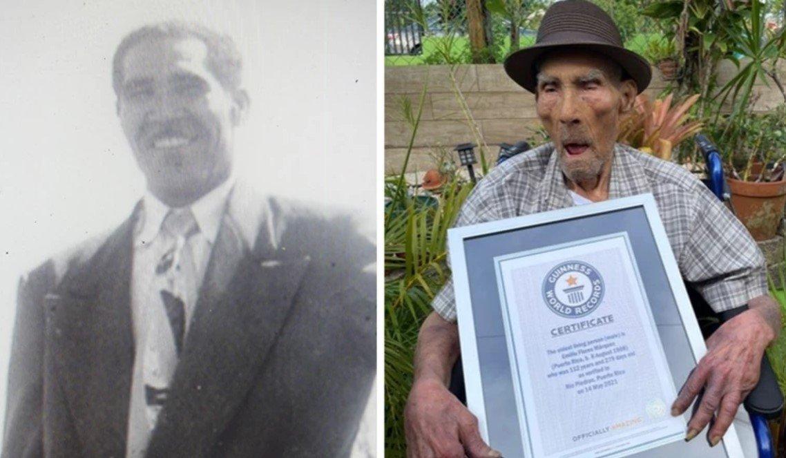 Рекорды Гиннеса: самому старому мужчине в мире 112 лет и 326 дней
