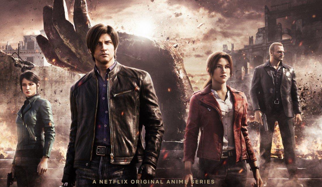 Netflix выпустил релиз нового мультсериала Resident Evil: Infinite Darkness