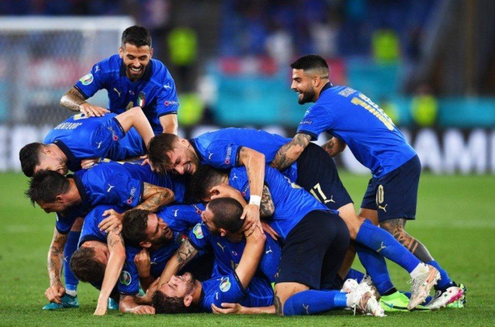 Сборная Италии обыграла в финале Англию и стала чемпионом Европы
