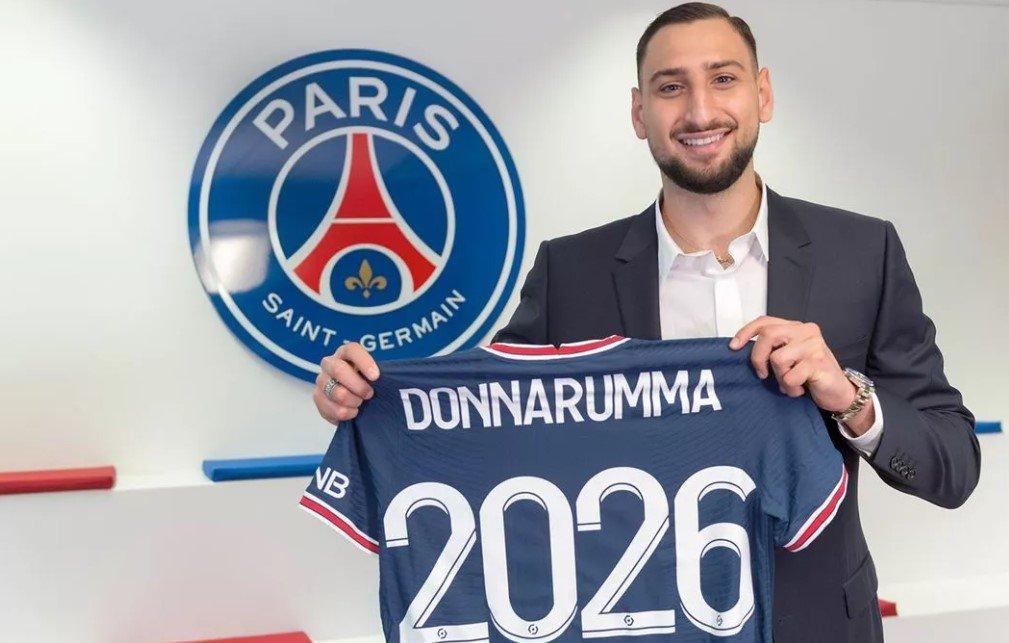 «ПСЖ» объявил о переходе голкипера «Милана» Доннаруммы