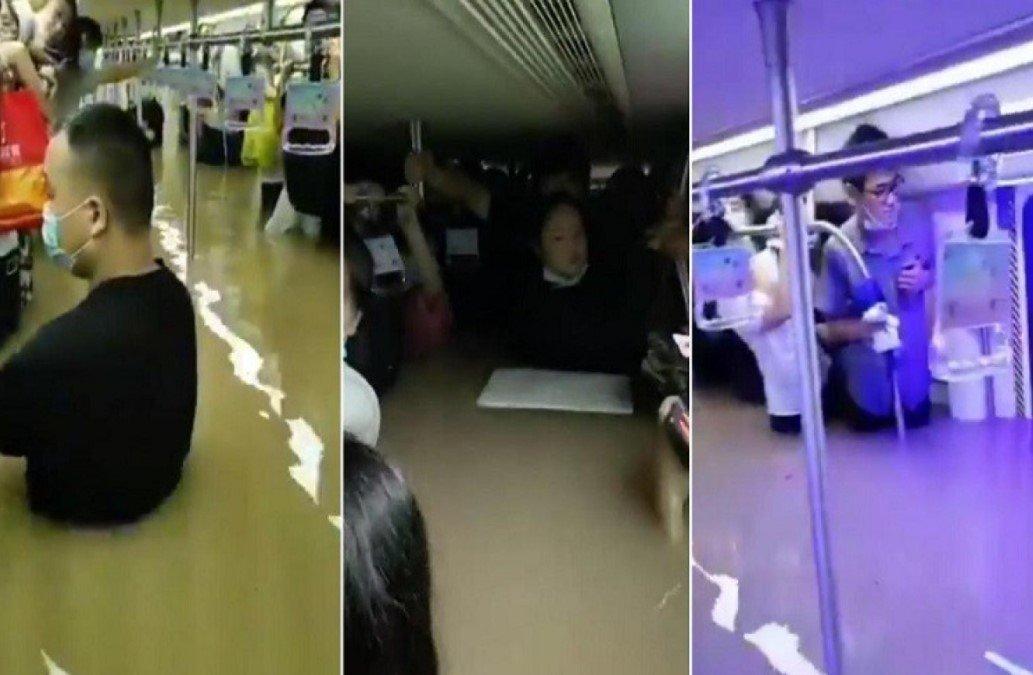 Не менее 12 человек погибли в результате затопления метро в Китае