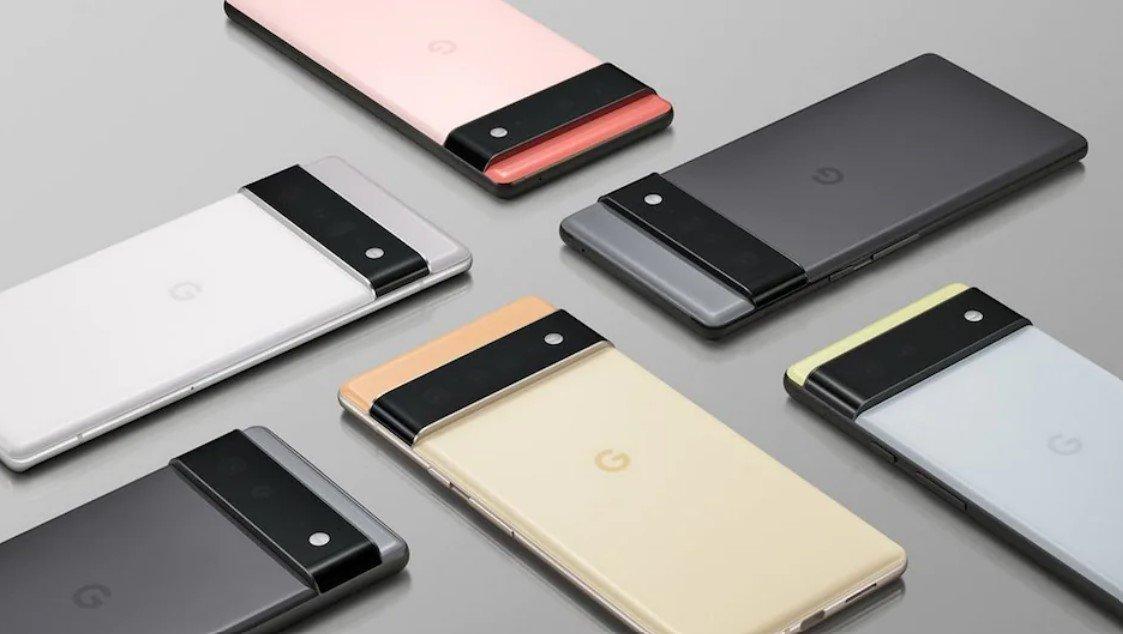 Google анонсировал выход смартфонов Pixel 6 и Pixel 6 Pro