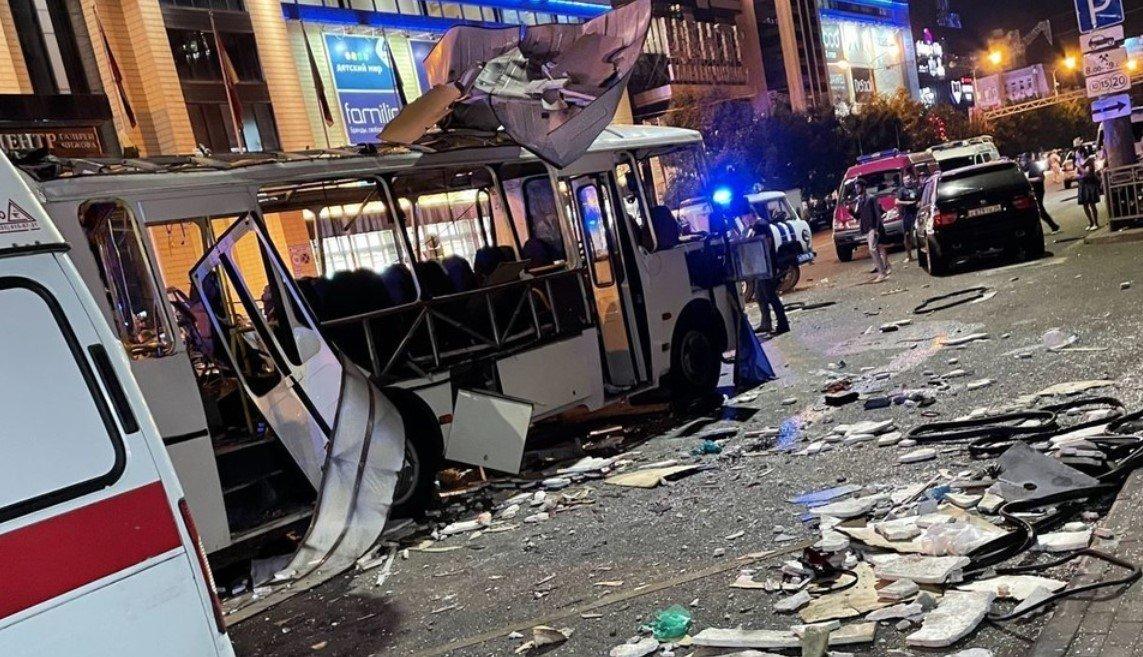 Количество жертв взрыва пассажирского автобуса в Воронеже выросло до двух