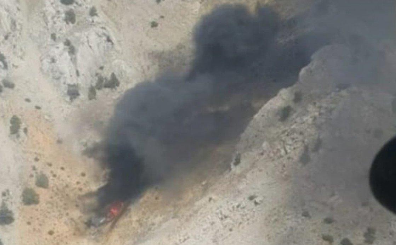 Восемь человек погибли при крушении пожарного самолета Бе-200 в Турции