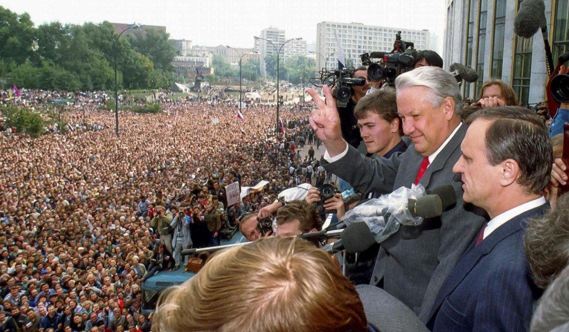 30 лет назад в Москве произошел Августовский путч