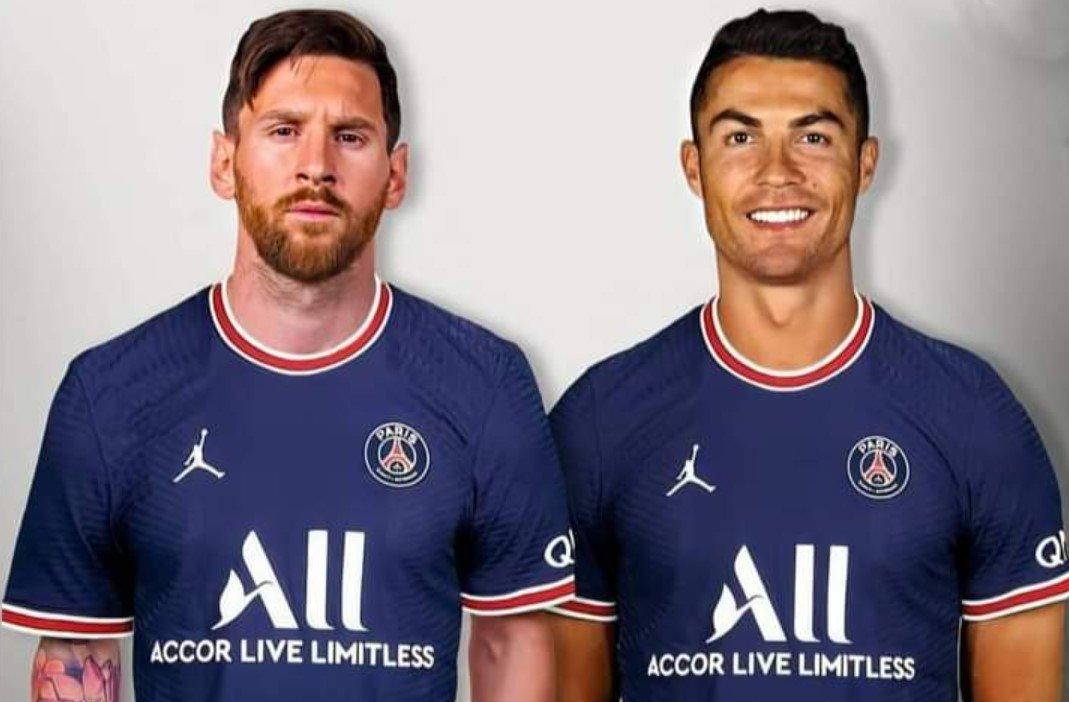 Роналду вслед за Месси может перейти во французский «ПСЖ»