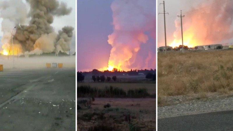 Число жертв в результате взрывов в воинской части в юге Казахстане достигло пяти