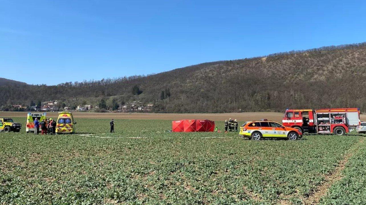 Двое человек погибли погибли при крушении малого самолета на севере Чехии