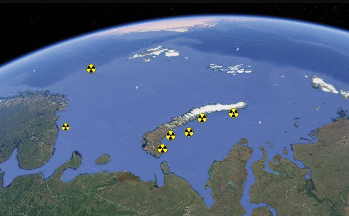 В Карском море обнаружили контейнер с реактором АПЛ К-19