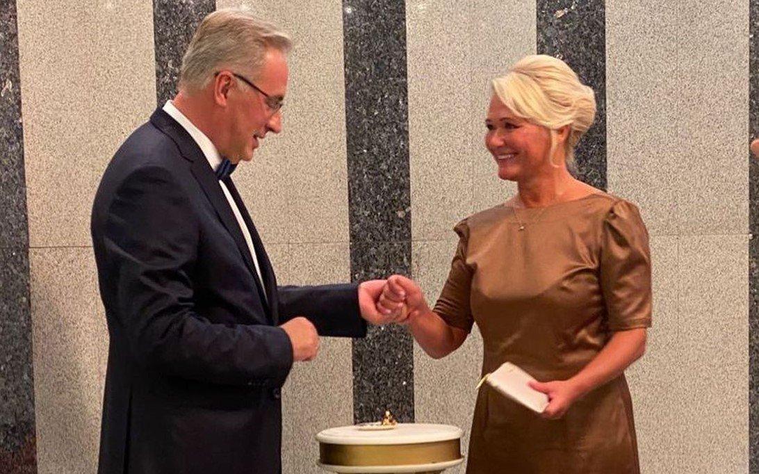 Телеведущий НТВ Норкин вновь женился спустя год после смерти жены