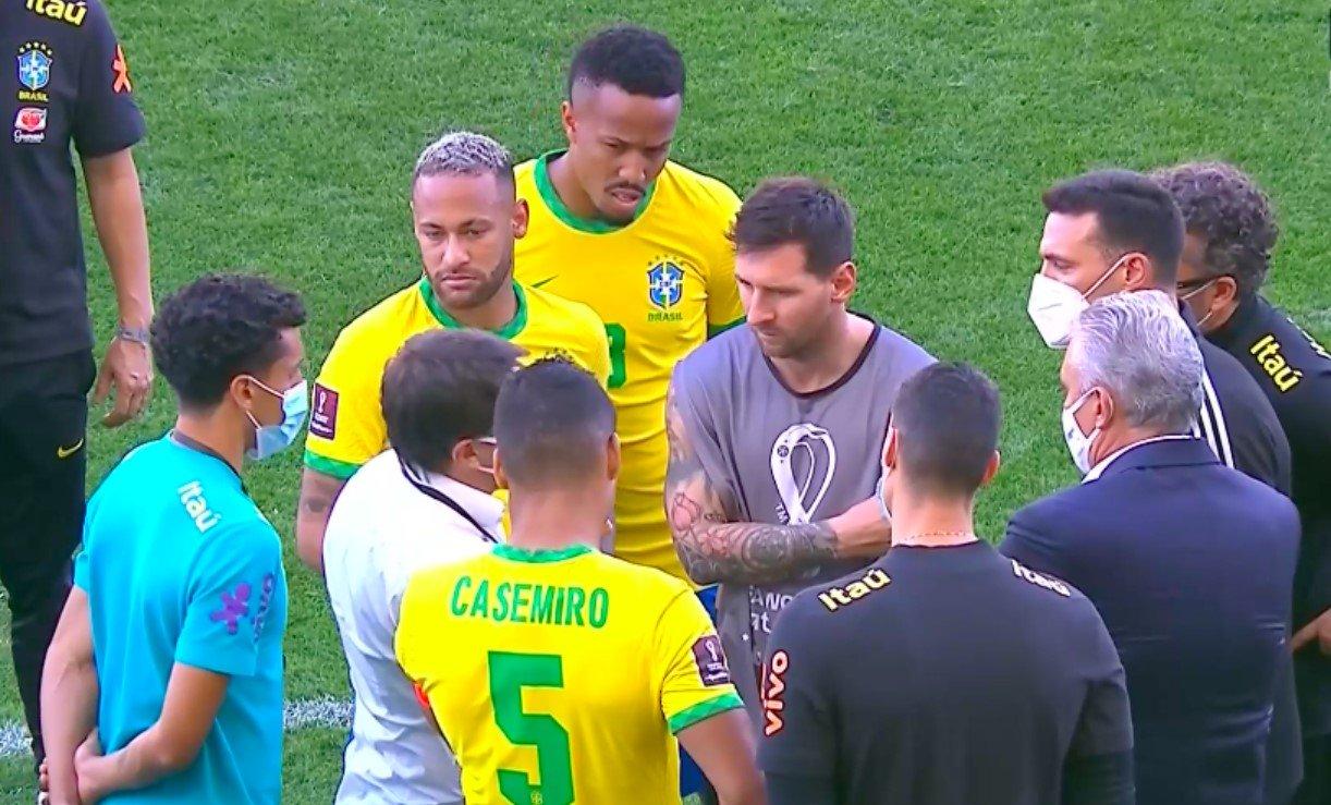 Игроков сборной Аргентины сняли с матча из-за непройденного карантина от COVID-19