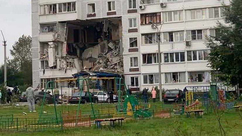В результате взрыва газа в девятиэтажном доме в Ногинске погибли 2 человек