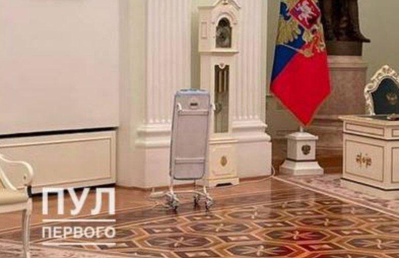 В Кремле начали обеззараживать воздух перед встречей Путина и Лукашенко