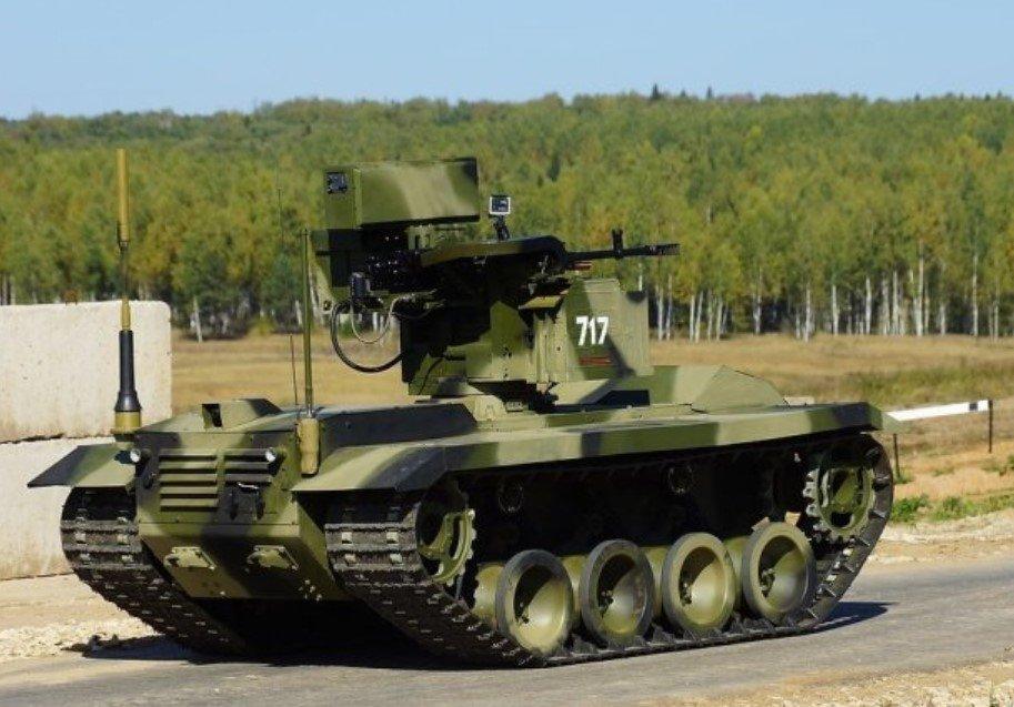 На учениях «Запад-2021» использовали новых роботов «Уран-9» и «Нерехта»