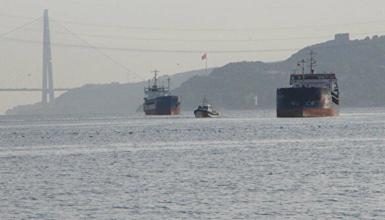 В проливе Босфор произошло столкновение двух сухогрузов России и Турции