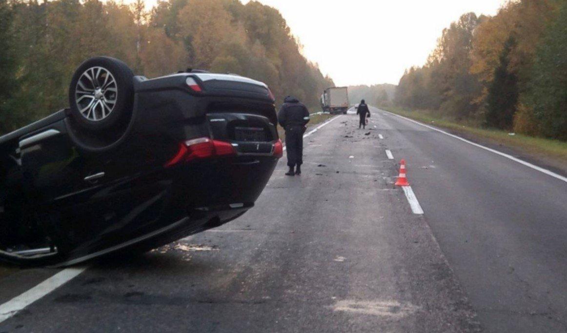 В ДТП под Витебском погиб зампред правительства Ивановской области России