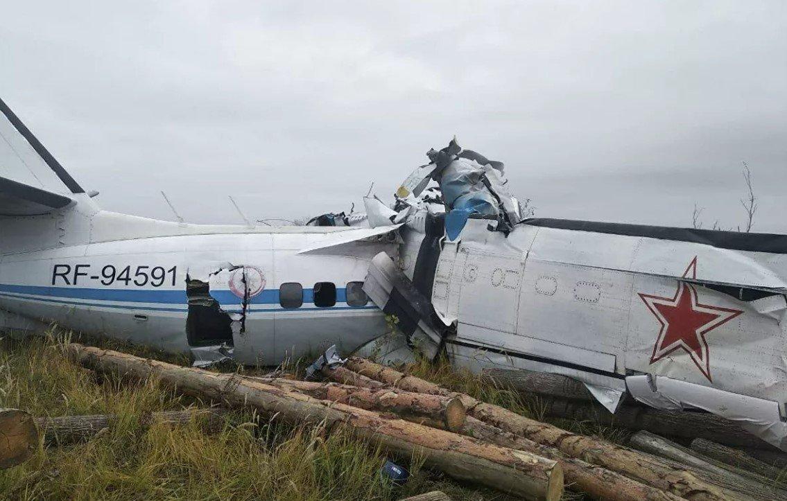 В результате крушения самолета L-410 в Татарстане погибли 15 человек