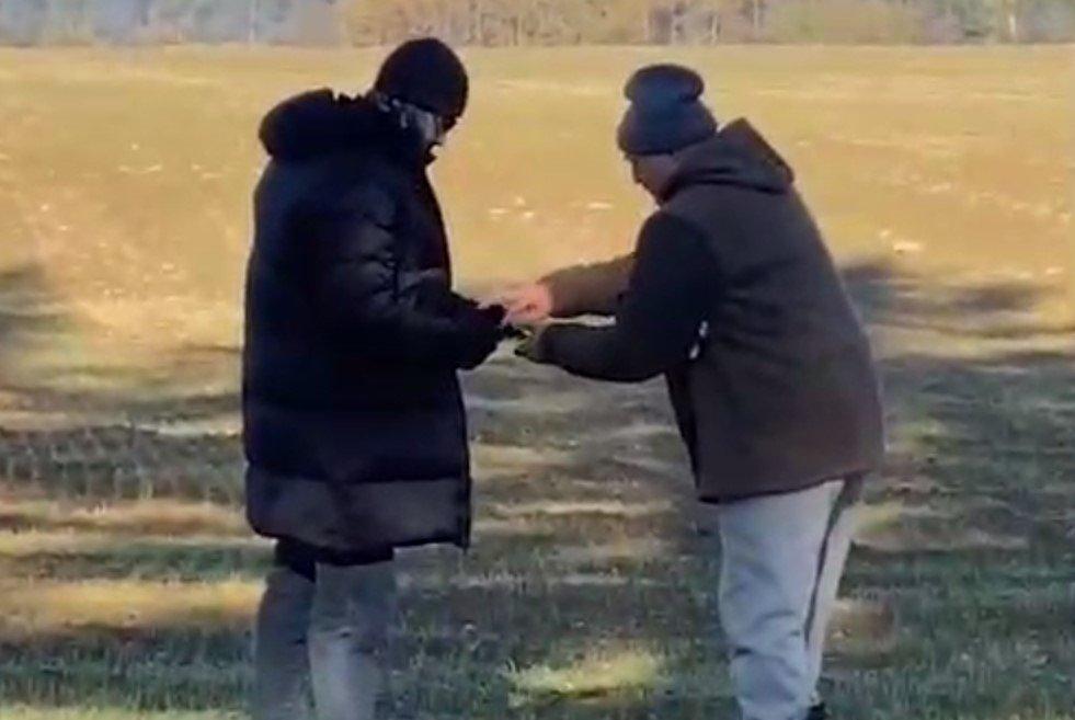 Лукашенко проинспектировал засеянные поля на мотоцикле