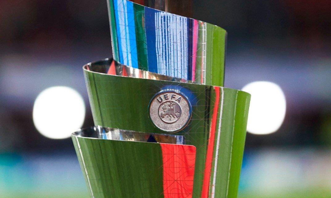 Сборная Франции обыграли Испанию в финале Лиги наций